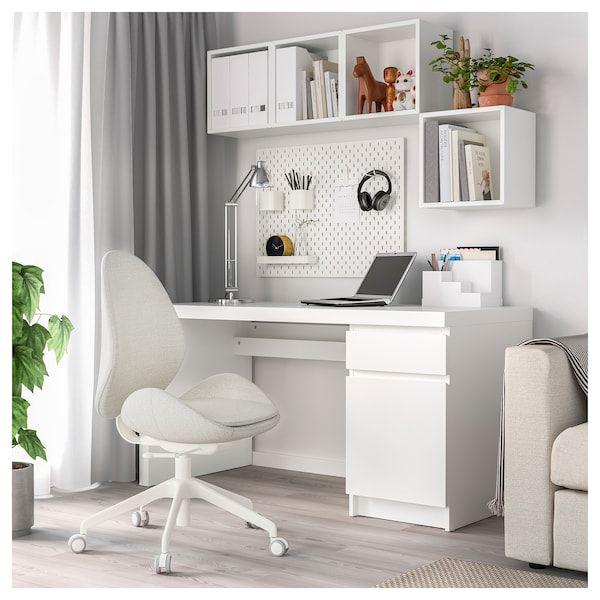 HATTEFJÄLL Office chair - Gunnared beige