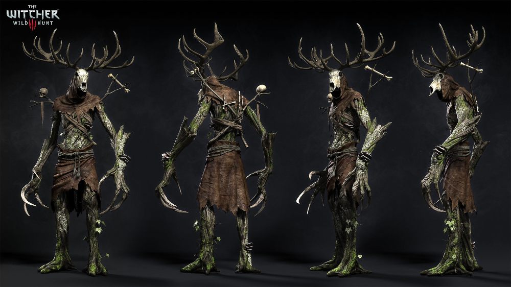 The Art Of The Witcher 3 The Witcher The Witcher Wild Hunt Witcher Monsters