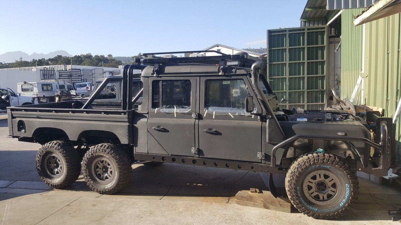 Land Rover Defender 130 6x6 Land Rover Land Rover Models Defender 130