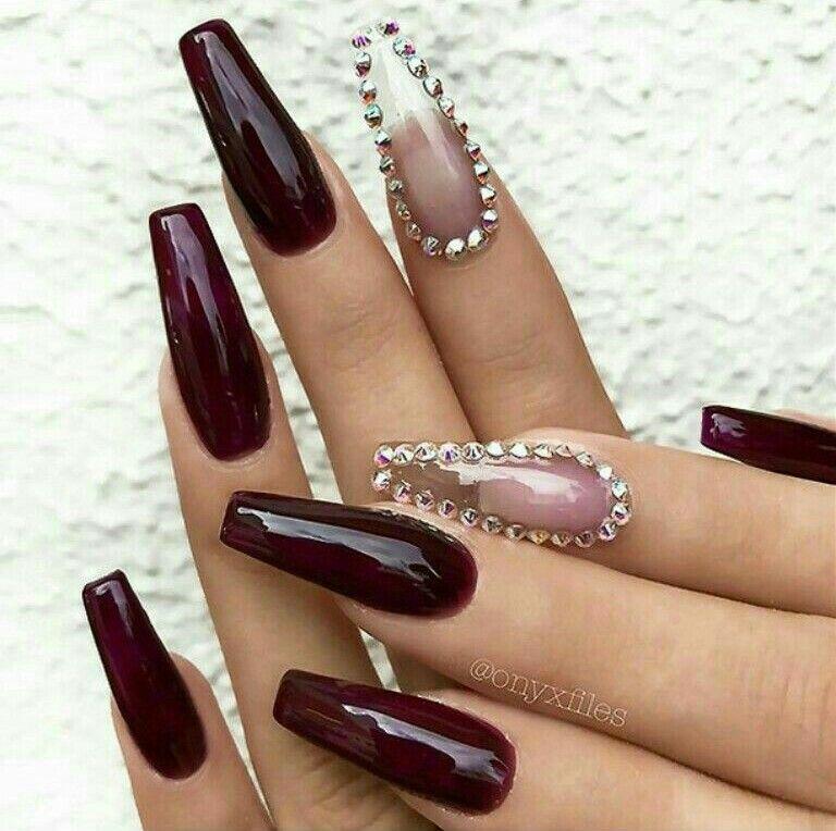 Pinterest: Rowenaaa123   Nails.   Pinterest   Nail nail, Coffin ...