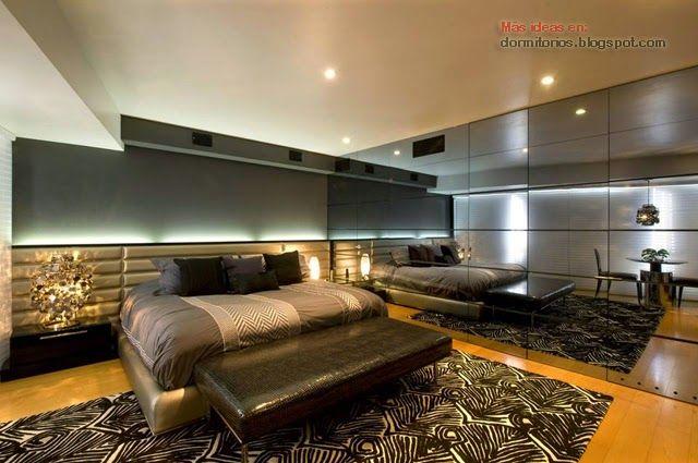 Dormitorio para hombre de karim chaman interiores for Dormitorio varon