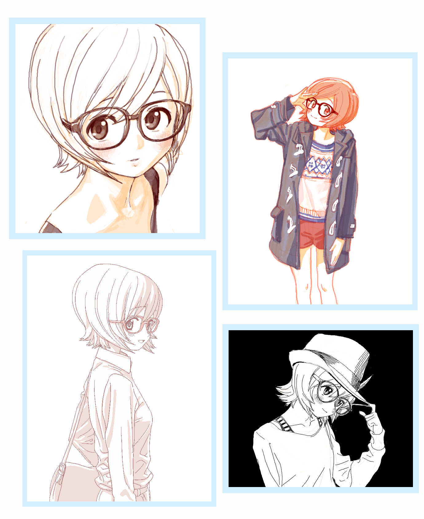 4 Steps To Your Own Signature Art Style Anime Art Tutorial Cartoon Drawings Disney Cartoon Style Drawing