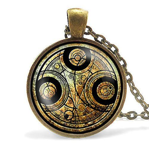 Steampunk Doctor Who Necklace