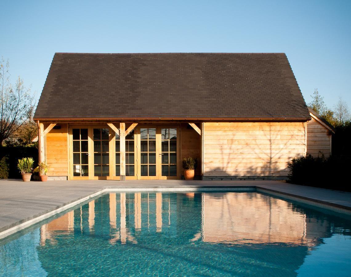 op maat gemaakt poolhouse cottage stijl