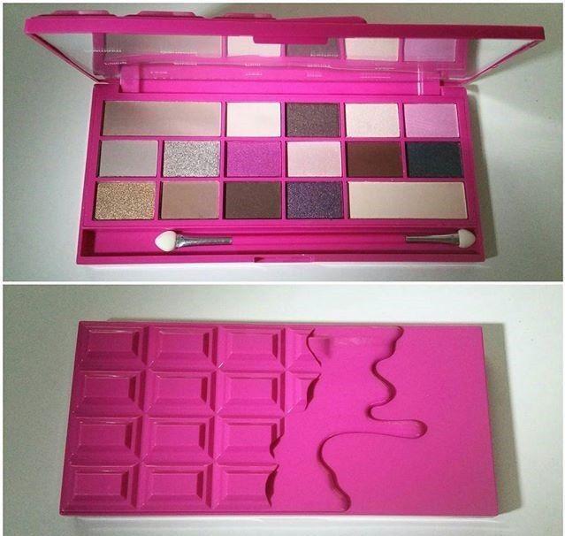 makeup revolution I Heart Makeup Eyeshadow Palette Chocolate Love eye shadow | eBay