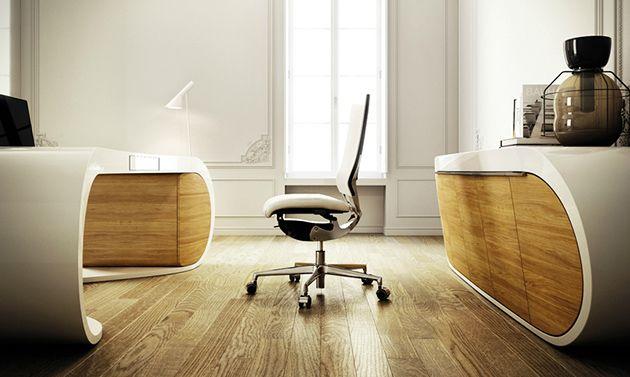 Designer Schreibtischlen eleganz und funktionalität schreibtisch büromöbel office
