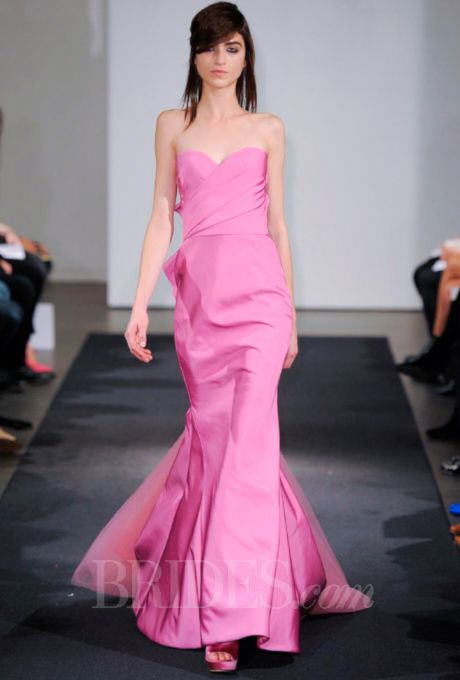 Vera Wang - Fall 2014 | Novia novio, Vestidos fiestas y Me gustas