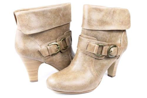 Style & Co Edge Brown Ankle Boots