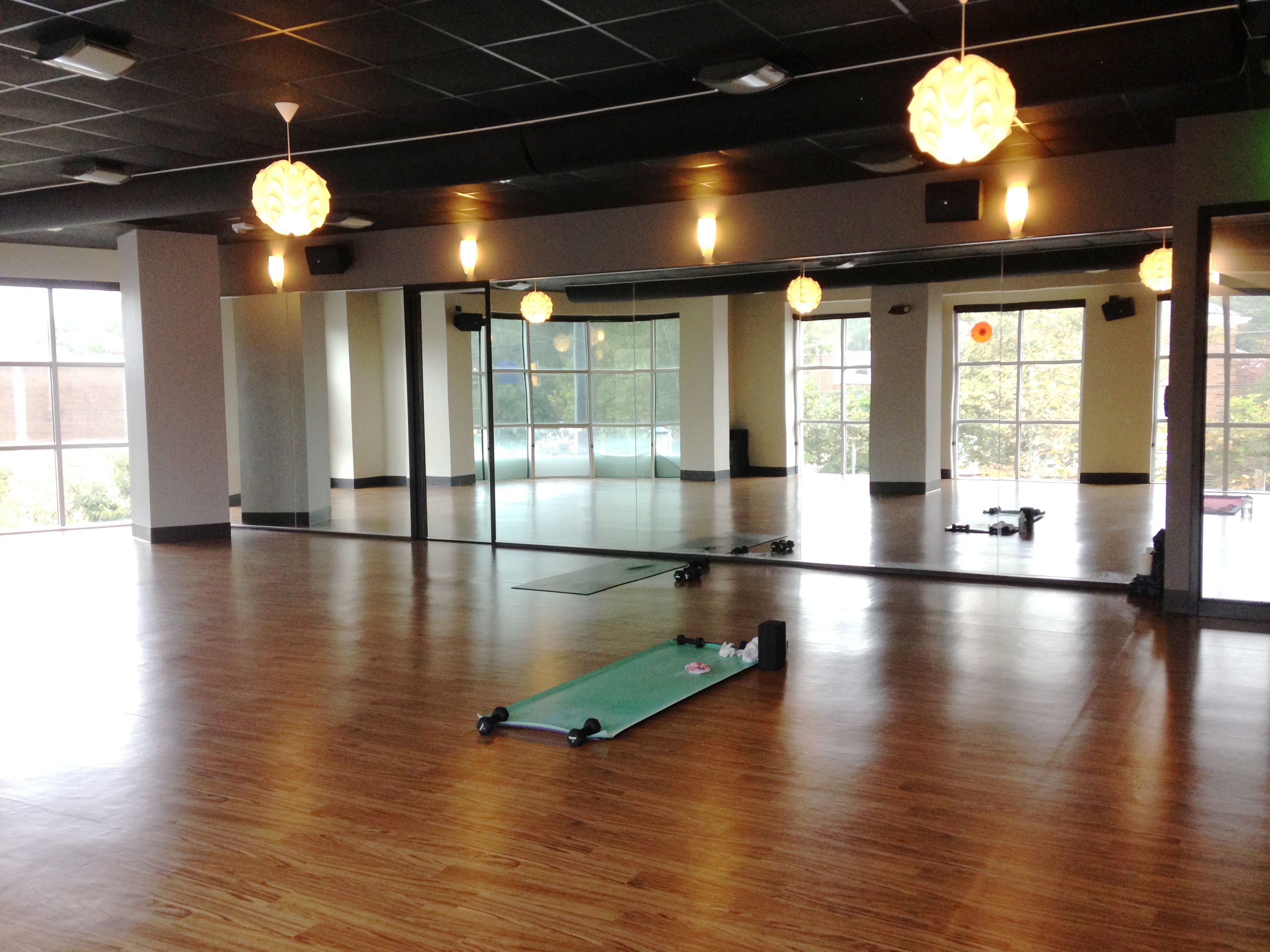 Barn Pendants are Key Component in Facility's Industrial Redesign   Modern  office design, Office designs  yogalokafit Sacramentos Best Yoga Studios