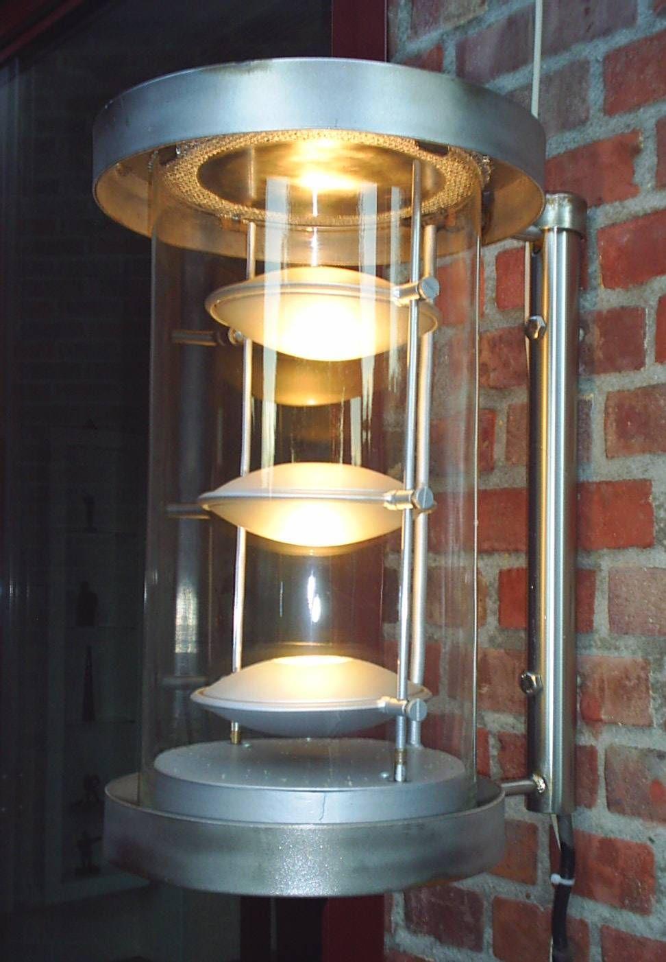 Roestvrijstalen halogeen buitenlamp