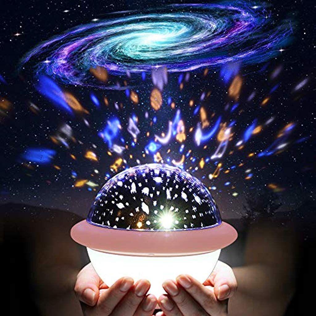 Sternenhimmel Projektor Lampe Solmore 2 In 1 Led Nachtlicht Fur Kinder Mit 9 Leds 6 Modi Und Dimmba Nachtlicht Fur Kinder Sternenhimmel Projektor Sternenhimmel