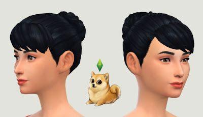 Lexicon Luthor: Girl Next Door Bun • Sims 4 Downloads