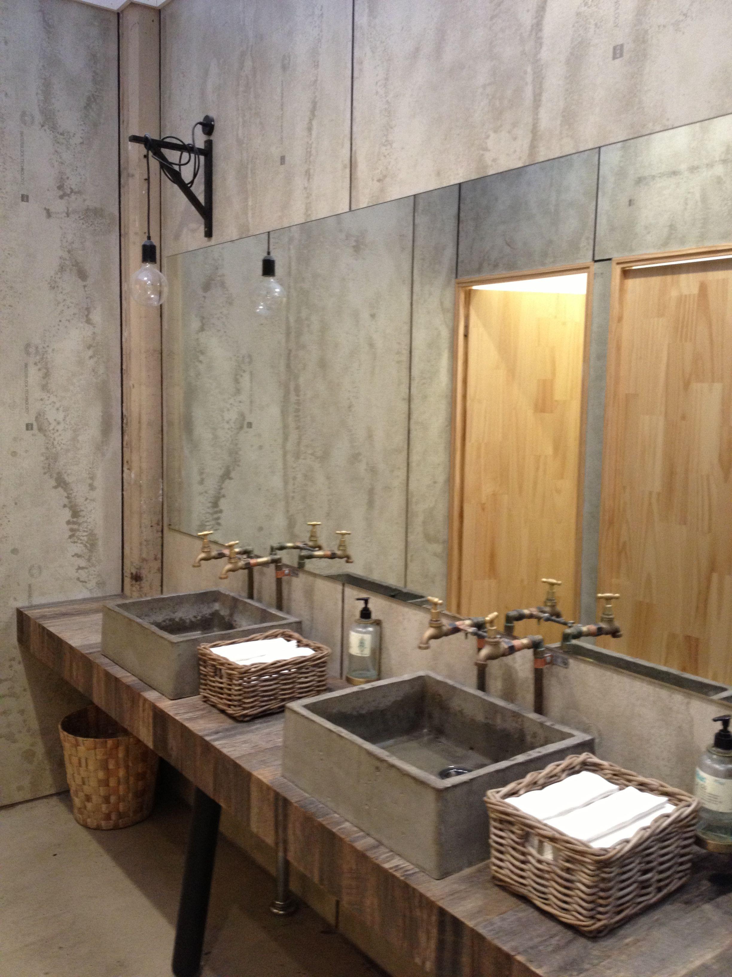 Industrial Bathroom Vanity