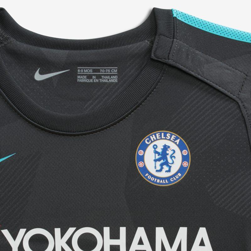 8b1c29d9c 2017 18 Chelsea FC Stadium Third Baby Toddler Football Kit - Black ...