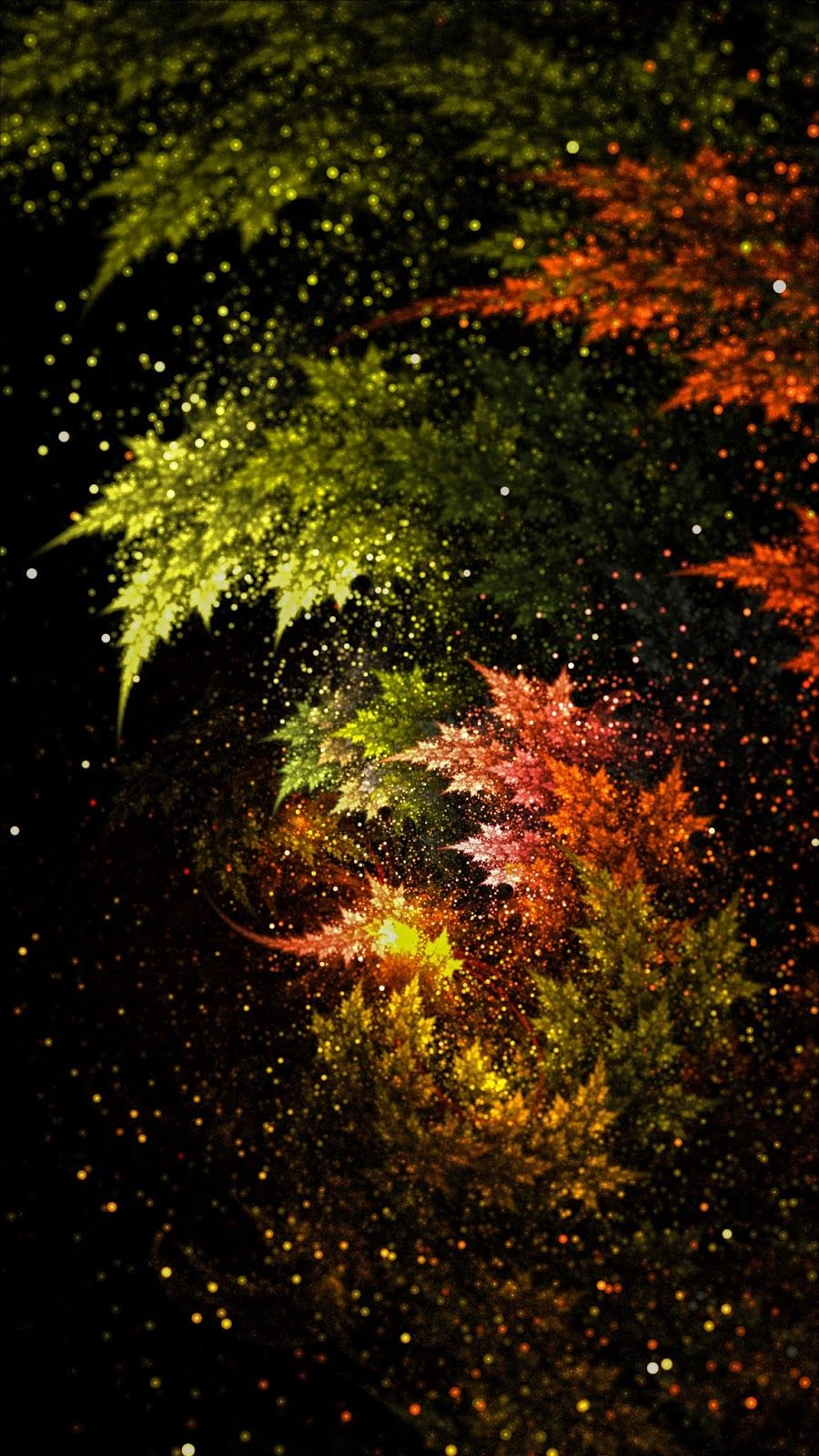 Star leaves | Фотографии природы, Зеленые фоны, Осенние ...
