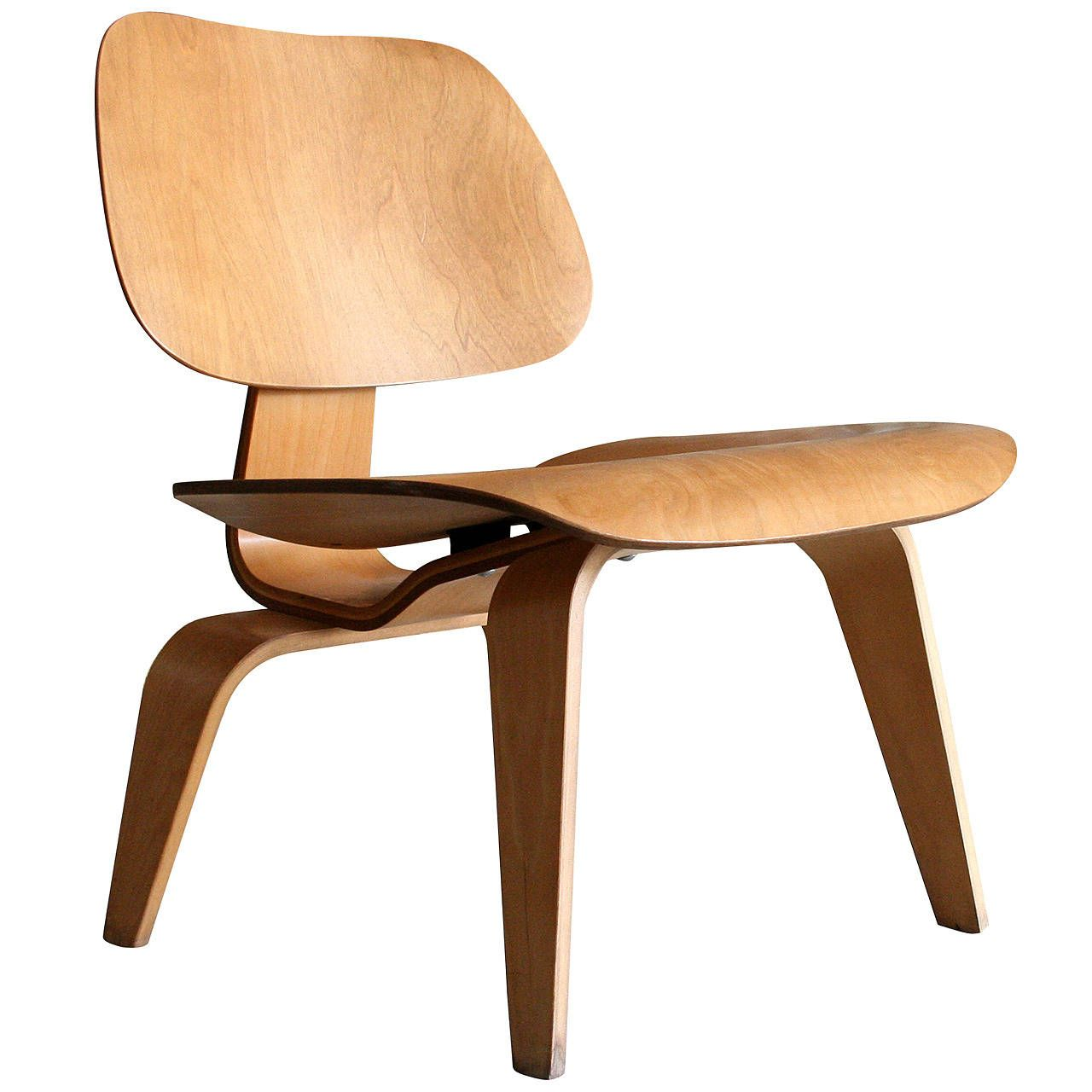 'Lounge Chair Wood' LCW by Charles Eames for Herman Miller