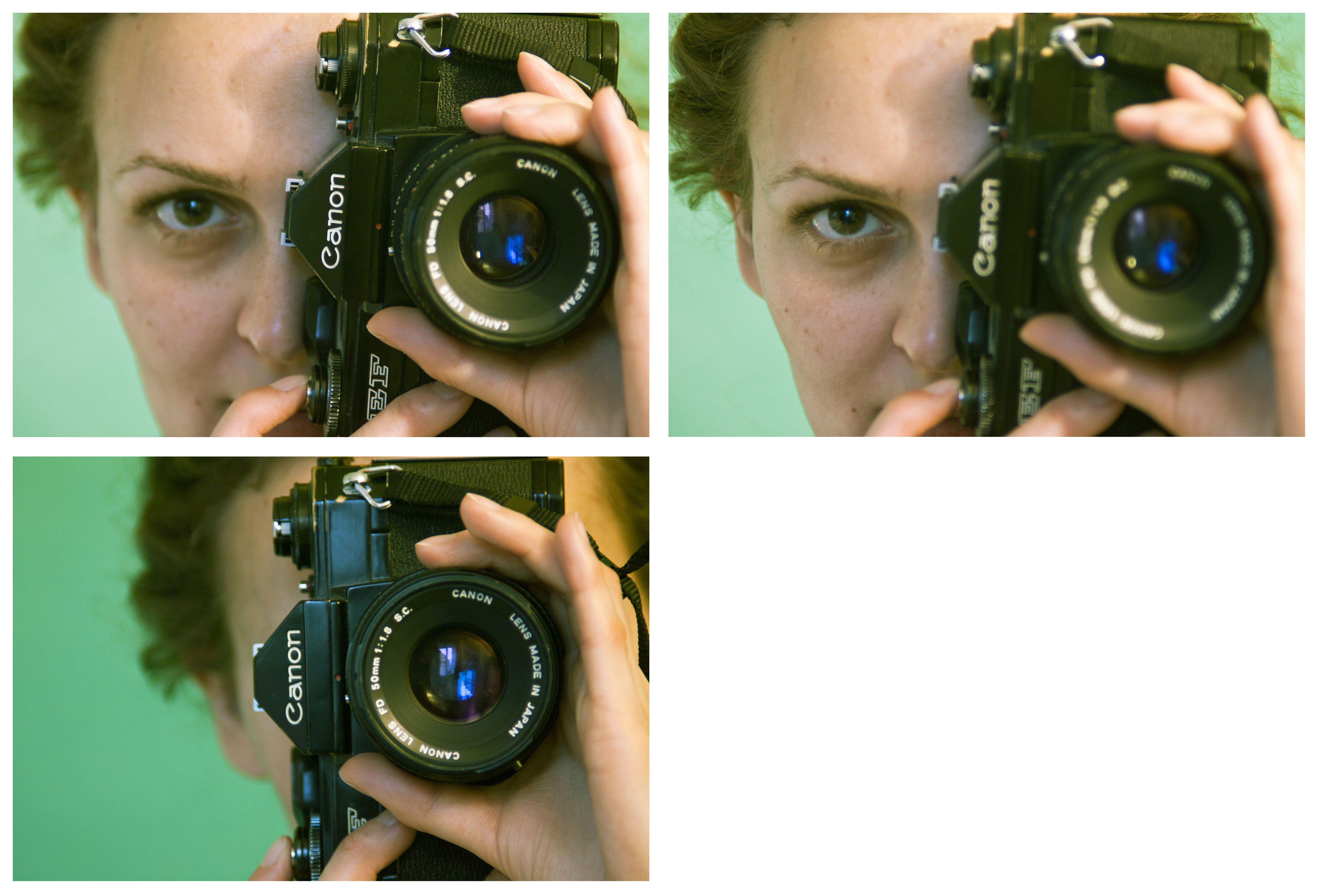 Annika Shooting With A 1973 Canon Ef Camera Photo Photo Canon Ef