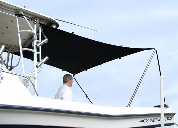 Details About T Top Boat Sun Shade Kit 4 L X 5 W Will Stretch To 6