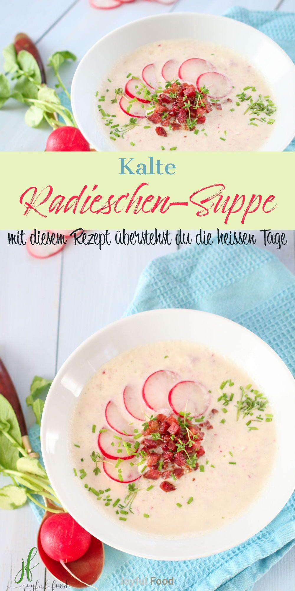 Kalte Radieschensuppe - wunderbar erfrischend   Joyful Food