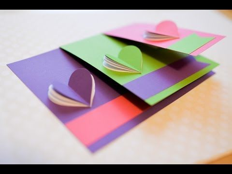 How to make greeting card valentines day hearts step by step how to make greeting card valentines day hearts step by step diy kartka m4hsunfo