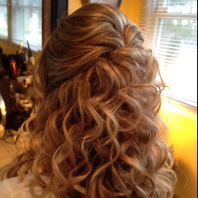Pretty 1 2 Up 1 2 Down I Did Bridesmaid Hair