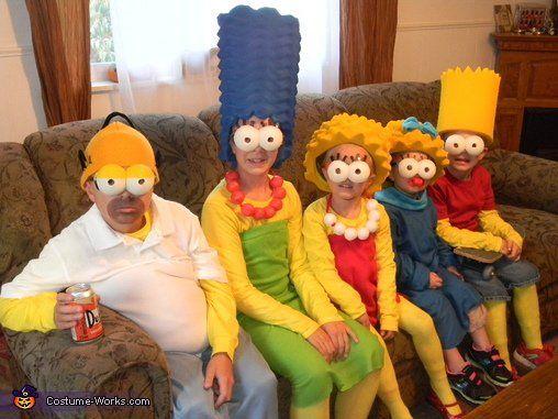 Simpsons Costumes Are The Creepiest 14 Pics Colegio - Disfraces-simpsons