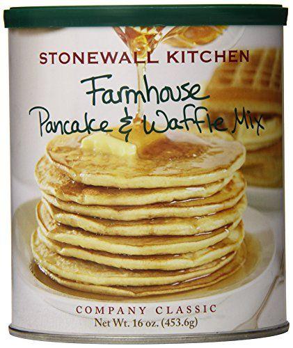Stonewall Kitchen Farmhouse Pancake and Waffle Mix, 16 Ounce Can Stonewall Kitchen