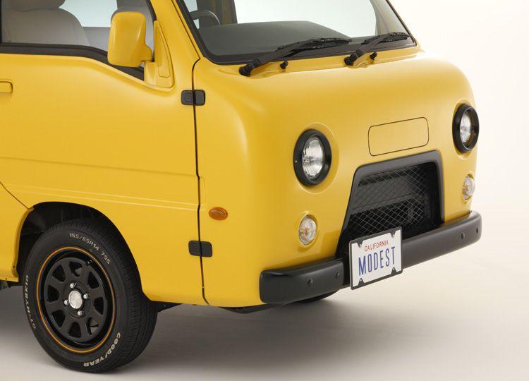 パズ サンバーバン ディアスワゴンをワズ仕様に制作 モデストカーズ
