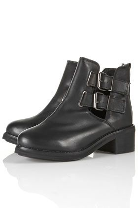 ADONIS2 Cut Out Heavy Boots