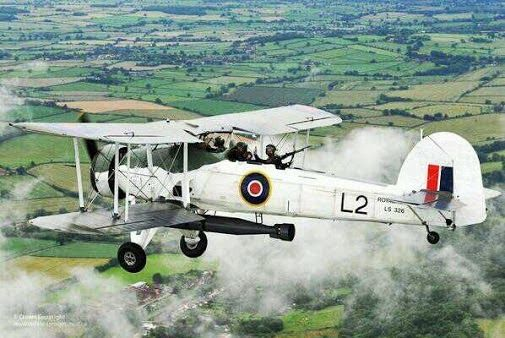 WW2 Royal Navy Swordfish Torpedo Bomber