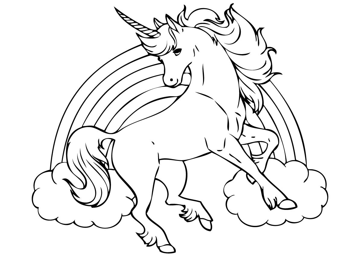 Unicorn Coloring Pages Unicorn Coloring Pages Unicorn Drawing