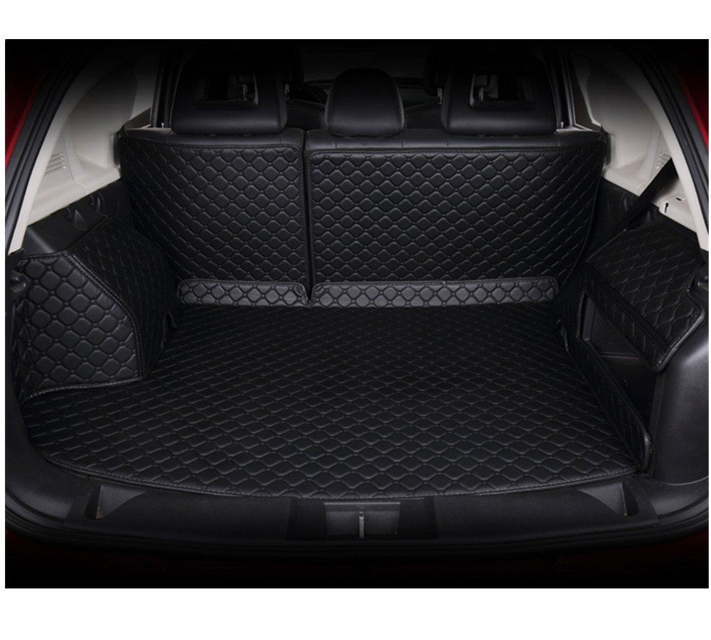 Ya Hee Waterproof Custom Fit Full Covered Trunk Mats Cargo Liners Leather Boots Liner Pet Mats