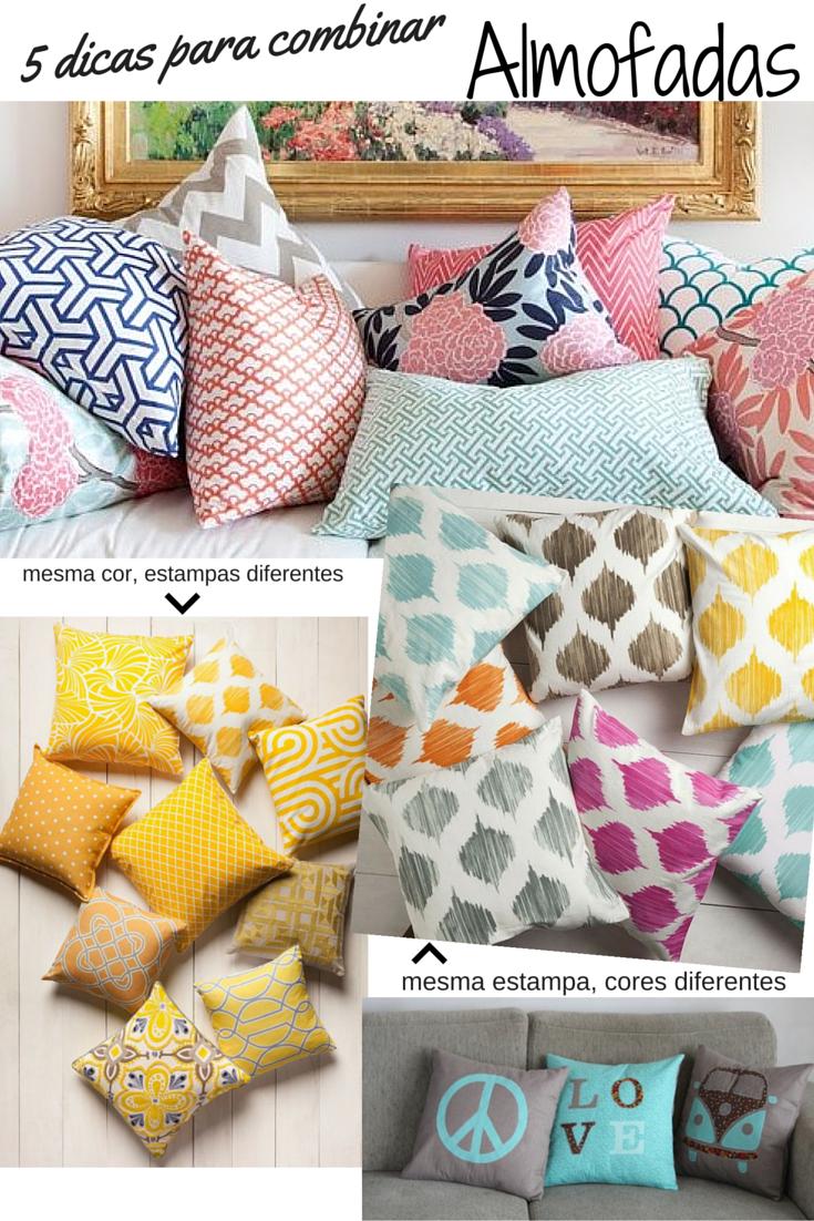 e96591e28e2941 Como combinar almofadas para o seu sofá | decoracion de interiores ...