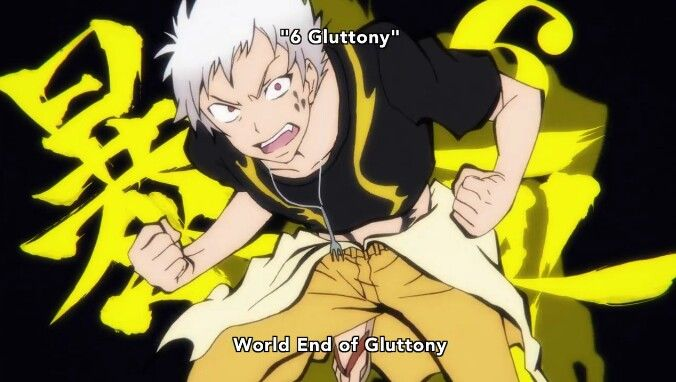 World End of Gluttony