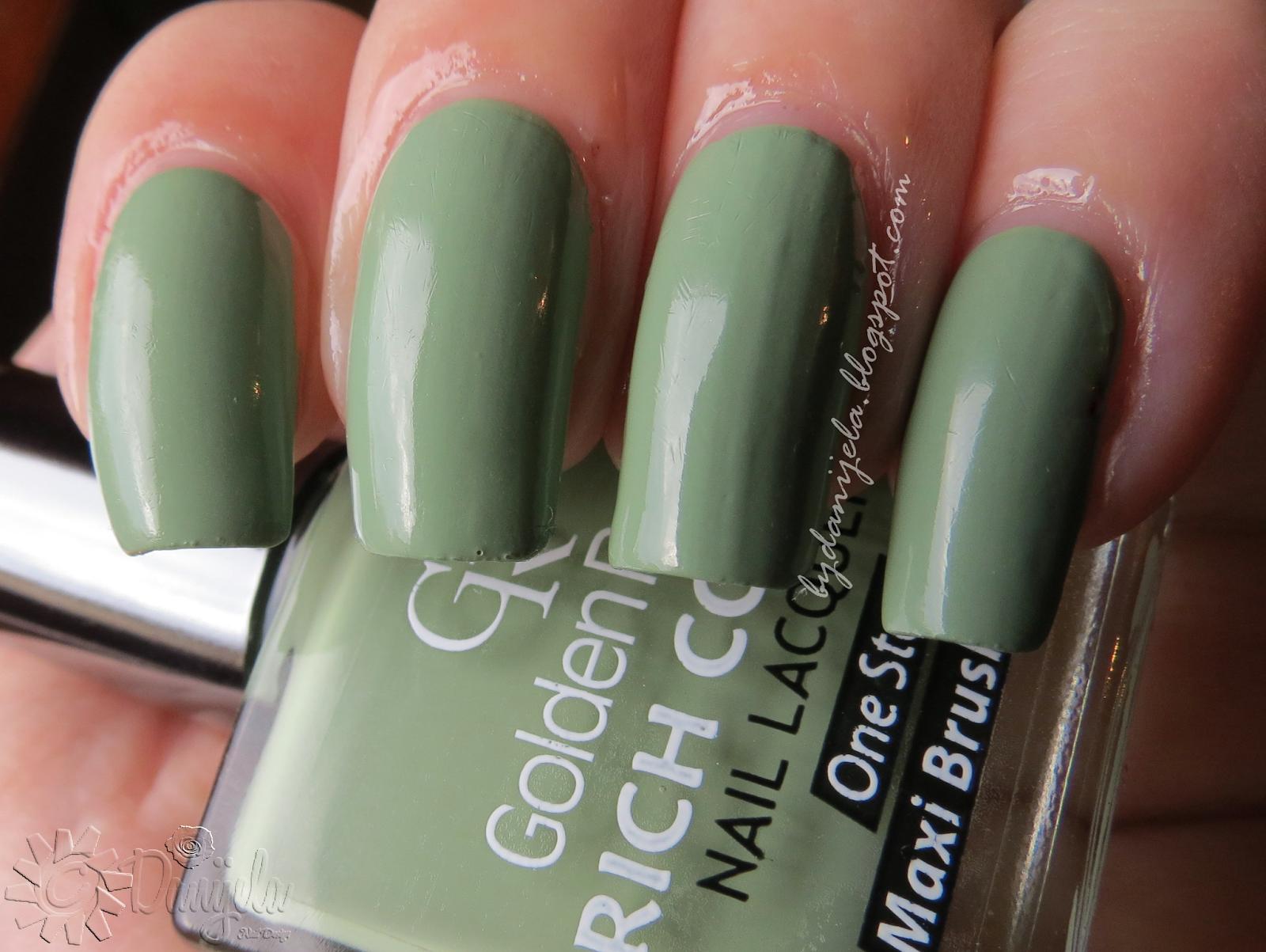 Golden Rose Rich color #111 #green #goldenrose #blog #blogger #nails ...