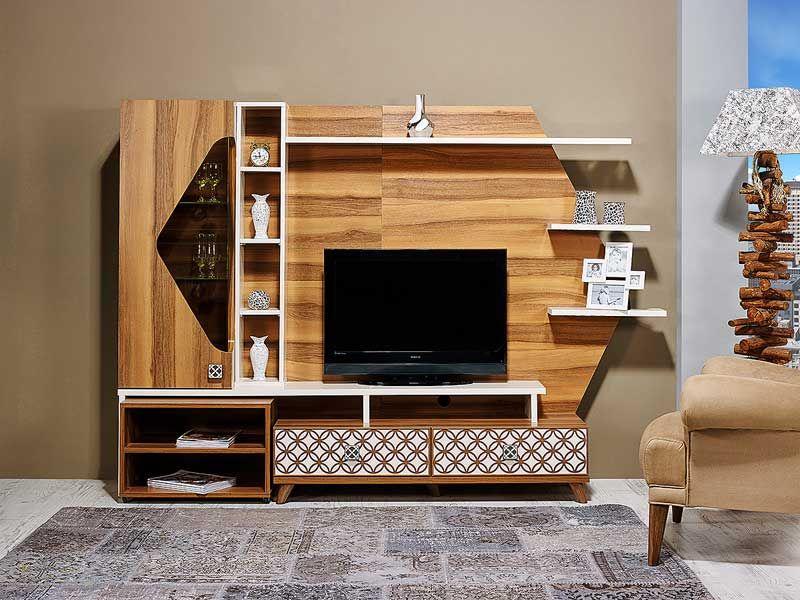tezel destina tv unitesi living room decor tv tv room design lcd wall design