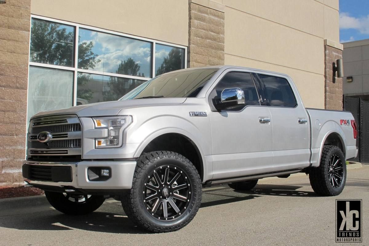 2013 ford f 150 fx4 leveled and lifted trucks edwards ford - 2015 2016 F150 Roush Wheel And Tire Package Truck Wish List Pinterest Wheels 20 Inch Wheels And F150 Truck