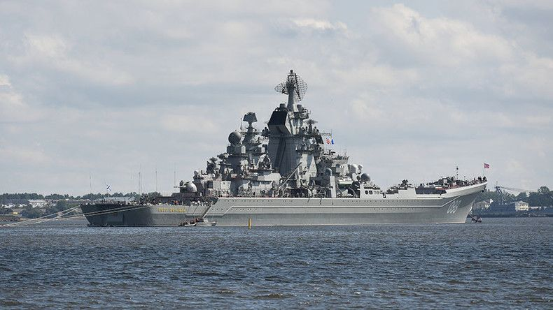 Russia S Most Powerful Warships Gear Up For Navy Day Photos Video Navy Day Warship Nuclear Submarine