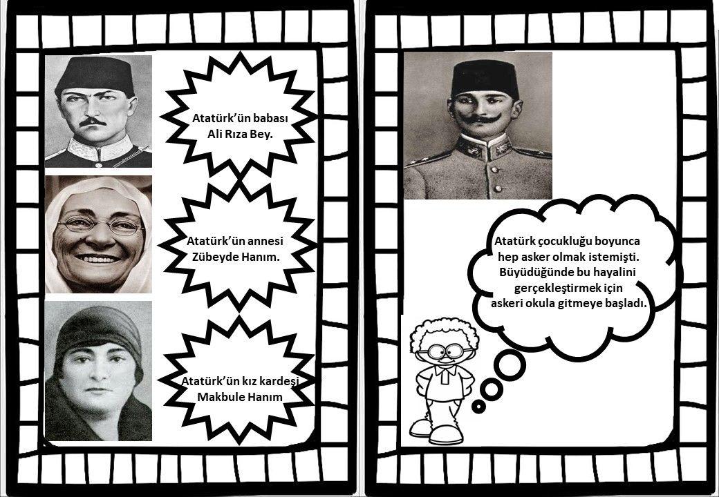 Emine Tas Adli Kullanicinin Ataturk Panosundaki Pin Okul Duzyazi Okul Oncesi