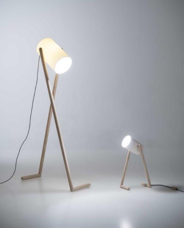 Boo Lamp By Hedda Torgersen In 2019 Wooden Floor Lamps Lamp Design Lighting Design