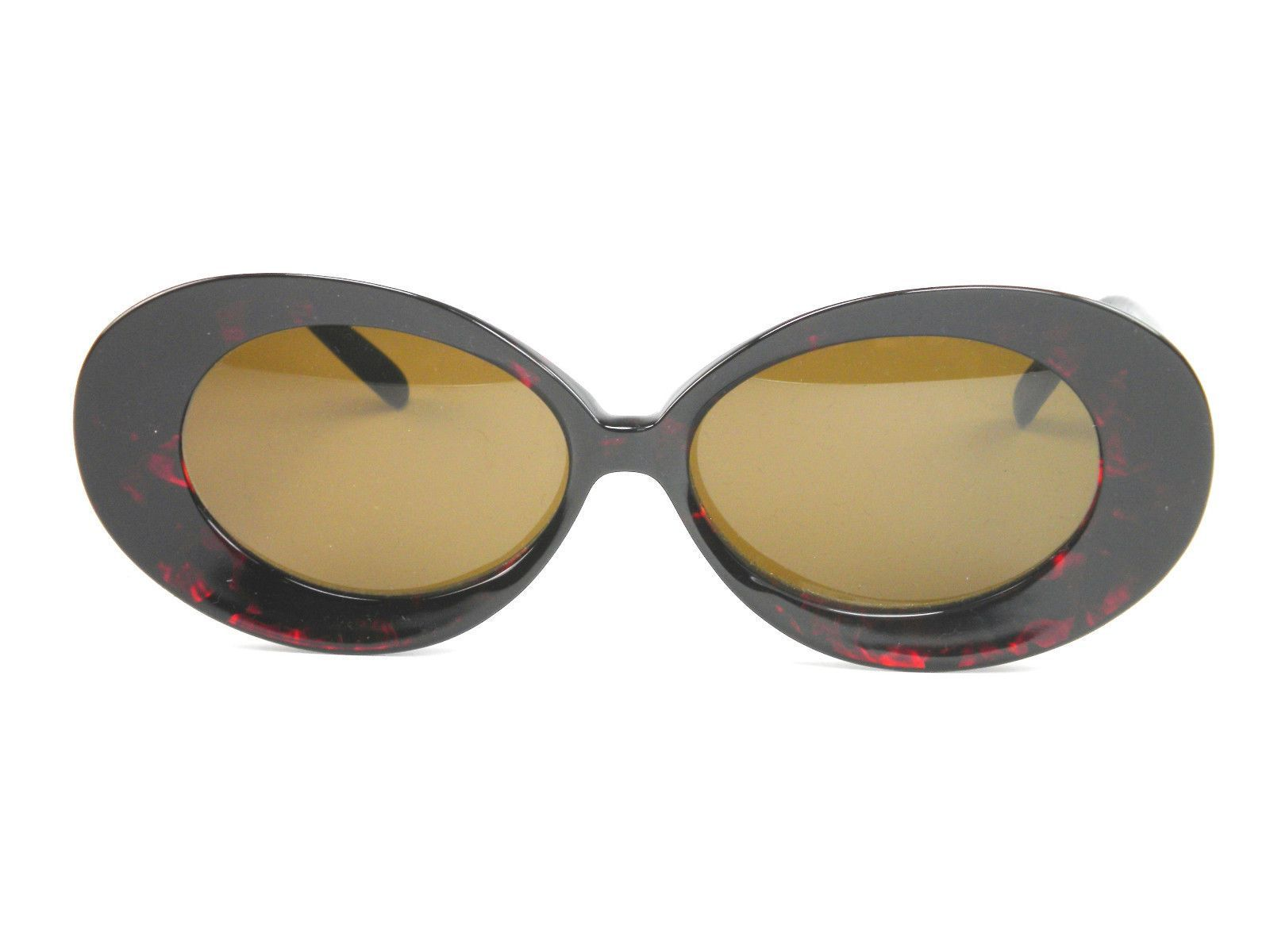 8cbbe2a791 Womens Club La 8251 Jackie O Vintage 60S 70S Oversized Oval Sunglasses  France