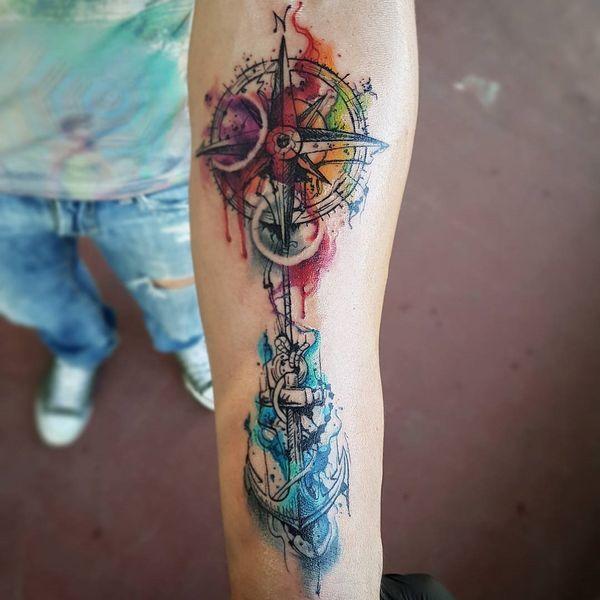 Brujula Disenos De Tatuajes Y Significado Tatuajes Molones