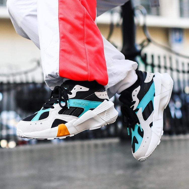 599f1a8f Gigi Hadid x Reebok Aztrek Double | Sneakers: Reebok Aztrek in 2019 ...