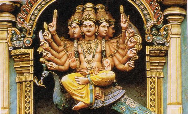Skanda, God of War, Sri Meenakshi Temple, Madurai. Chennai ...