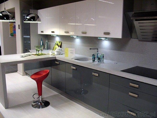 szara kuchnia ikea  Szukaj w Google  Mój dom  Pinterest   -> Kuchnia Orzech Polysk