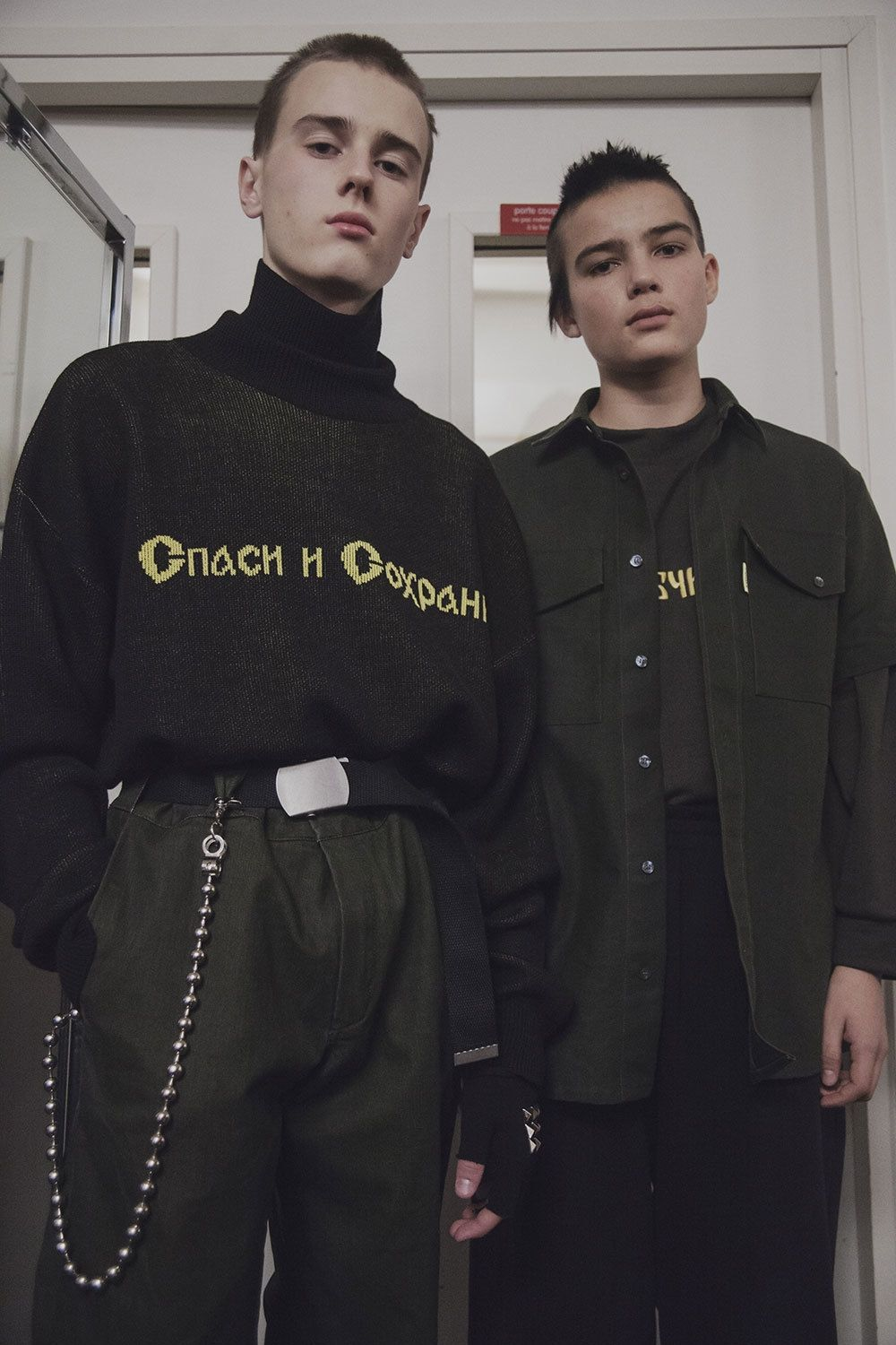 e67bbff745c03f exclusive  go backstage at gosha rubchinskiy s fall winter 16 show ...
