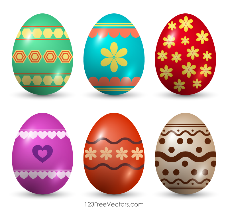 Painted Easter Eggs Clip Art Easter Egg Painting Easter Wishes Easter Eggs