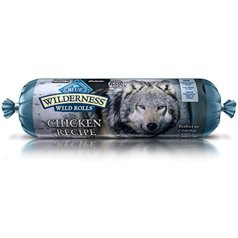 Blue Wilderness Adult Grain Free Wild Rolls Chicken If You