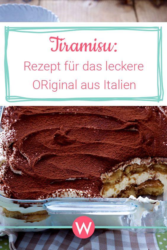 Tiramisu Rezept: Das Original aus Italien | Wunderweib