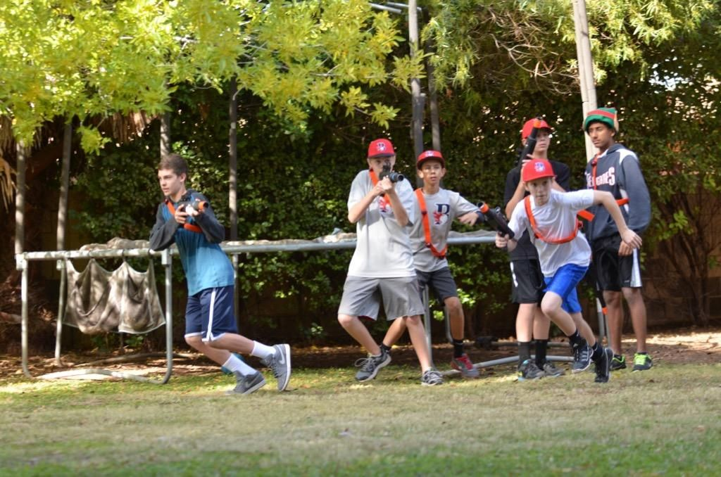 How Do You Entertain 15 Kids In Your Backyard? Simple, With GameTruck  Powered LaserTag